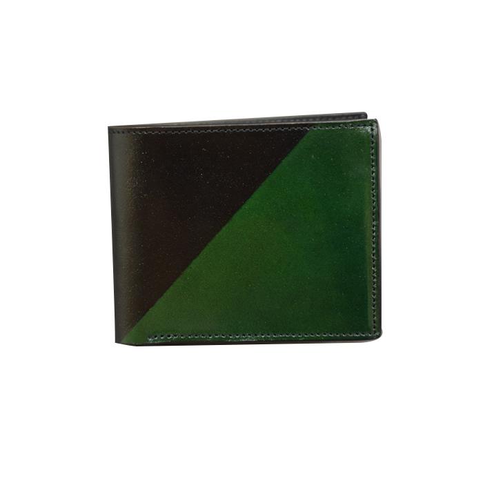 折りたたみウォレット スラッシュ(緑色)